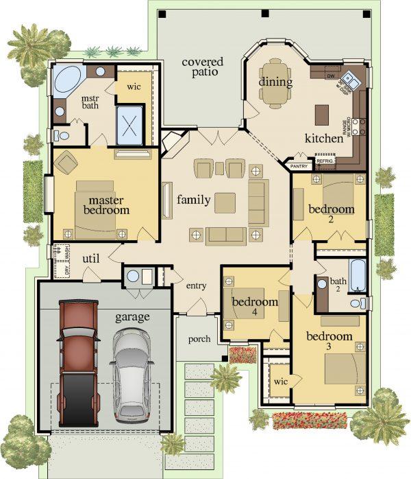 Plan-1888-Bellagio-Floor-Plan-600x698 Venetian Plan Carothers Executive Homes on