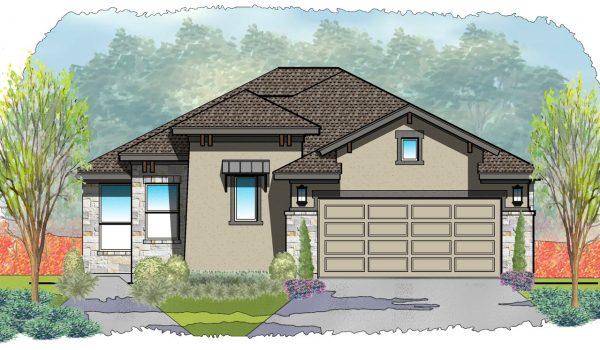 2005-Llano-Elevation-B-600x350 Venetian Plan Carothers Executive Homes on