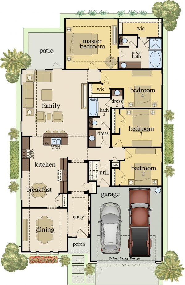 Floor-Plan-reduced-600x923 Venetian Plan Carothers Executive Homes on